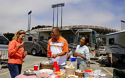 Tailgating Fans